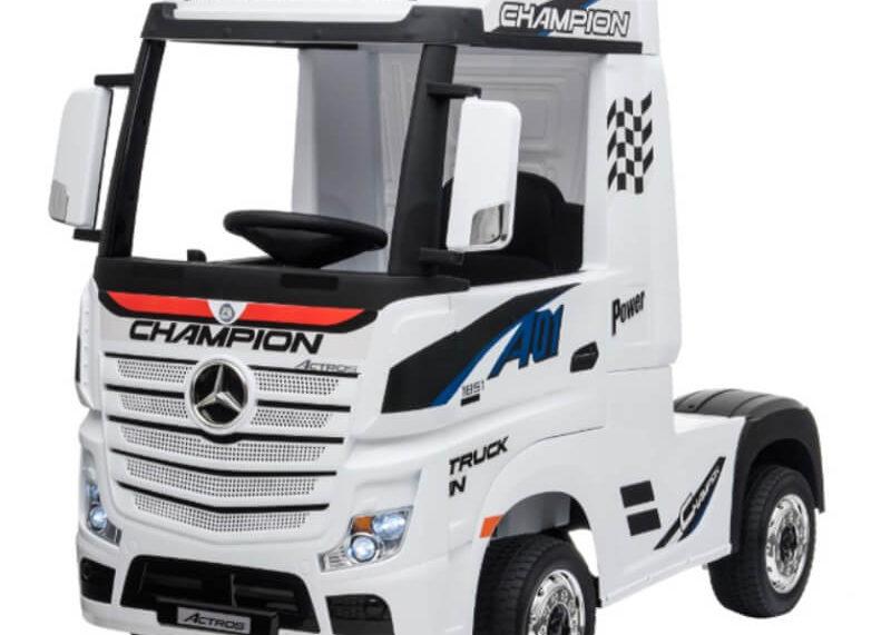 Mercedes Actros Truck Kinderauto weiss