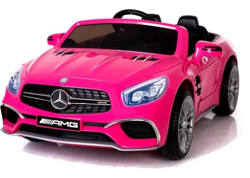 Mercedes Kinderauto pink rosa