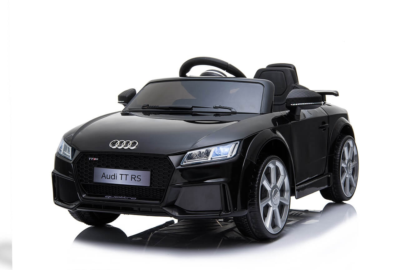 Audi TT RS Kinderauto Ln-25 schwarz (2)