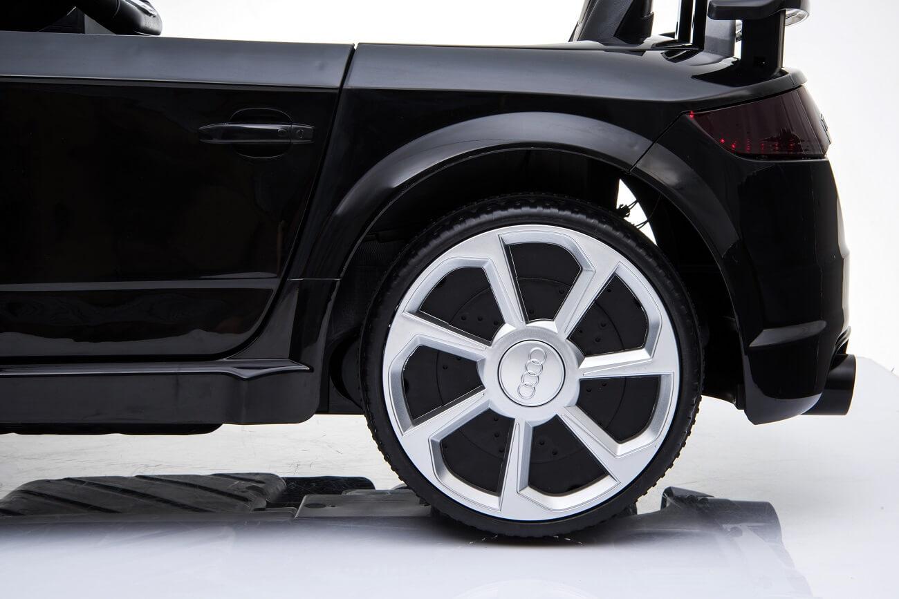 Audi TT RS Kinderauto Ln-25 schwarz (5)