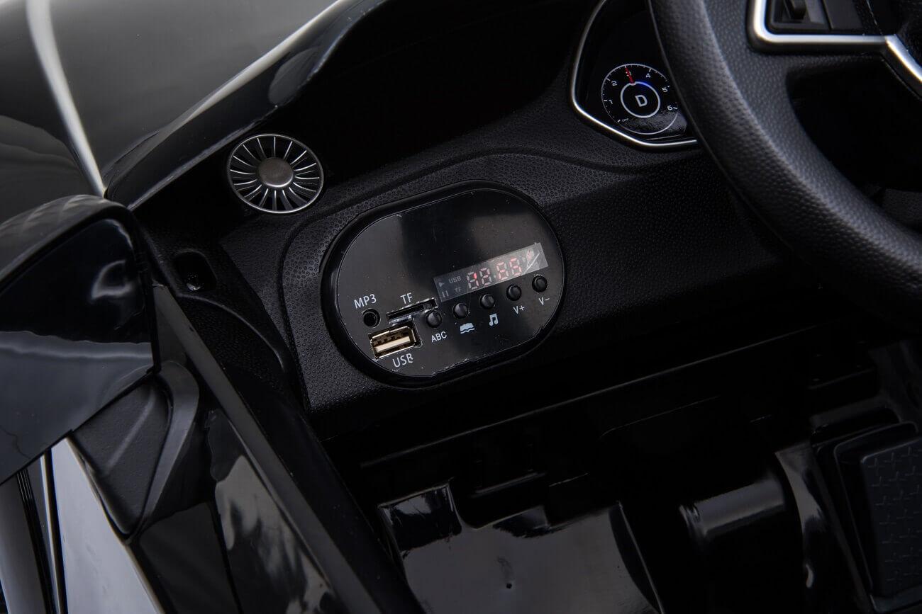 Audi TT RS Kinderauto Ln-25 schwarz (8)