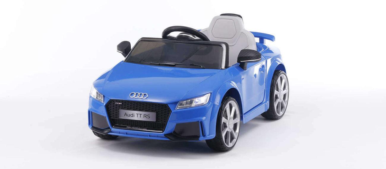 Audi TT RS blau Kinderauto 1