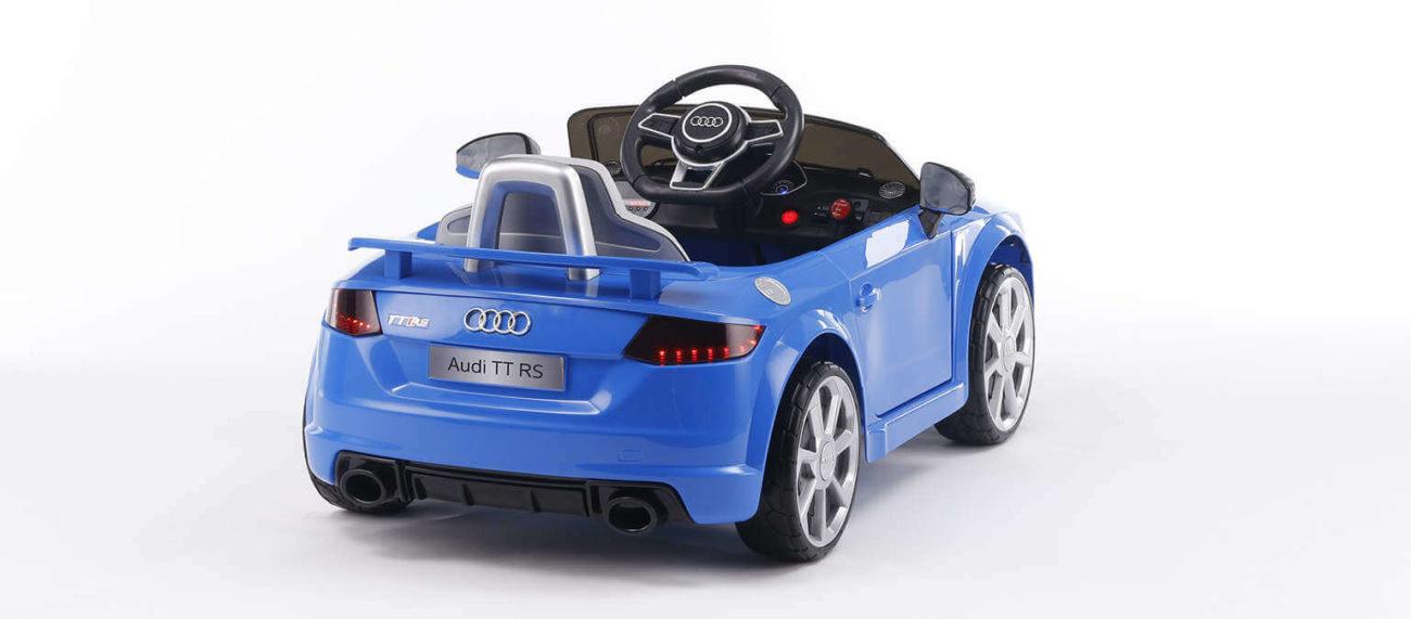 Audi TT RS blau Kinderauto 2