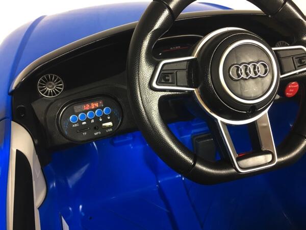Audi TT RS blau Kinderauto 4