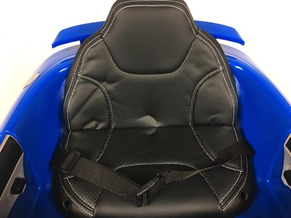 Audi TT RS blau Kinderauto 7