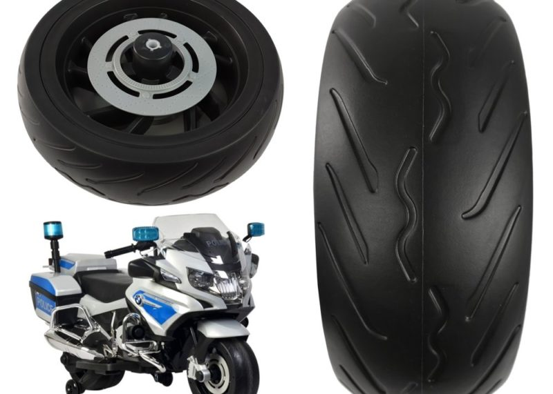 Ersatzreifen Kindermotorrad BMW Polizei