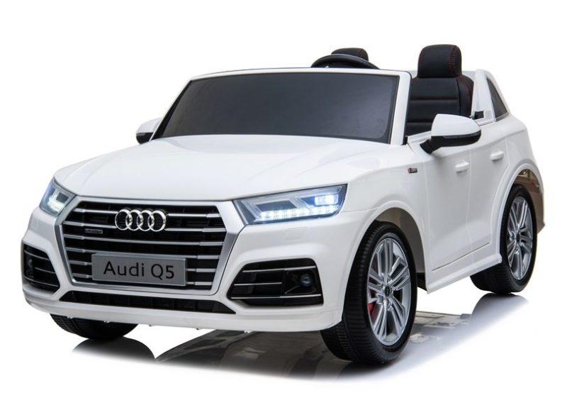 Audi Q5 Kinderauto weiss elektrisch