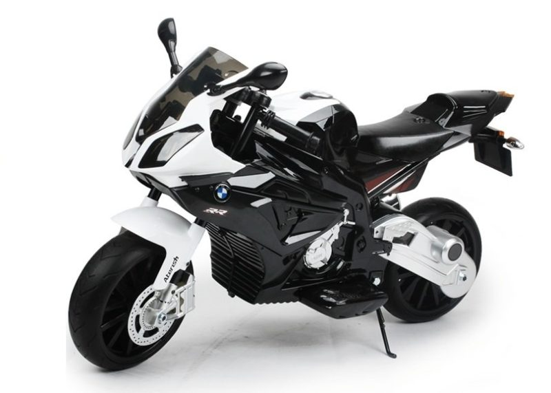 Motorrad mit 2 Motoren - BMW